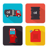Petroleum design. Royalty Free Stock Photos