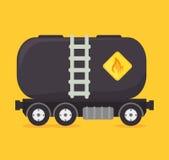 Petroleum design. Royalty Free Stock Image