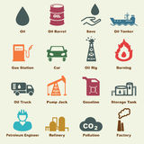 Petroleum elements Royalty Free Stock Images