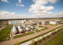Petroleum factory Stock Images