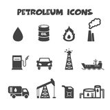 Petroleum icons Stock Image