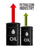 Petroleum industry  design. Petroleum industry design,  illustration eps10 graphic Royalty Free Stock Photography