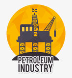 Petroleum industry  design. Petroleum industry design,  illustration eps10 graphic Royalty Free Stock Photos