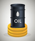 Petroleum industry  design. Petroleum industry design,  illustration eps10 graphic Royalty Free Stock Images