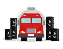 Petroleum industry  design. Petroleum industry design,  illustration eps10 graphic Stock Photo