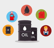Petroleum industry  design. Petroleum industry design,  illustration eps10 graphic Stock Image