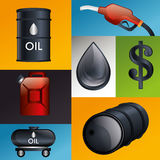 Petroleum industry  design. Petroleum industry design,  illustration eps10 graphic Stock Images