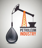 Petroleum industry  design. Petroleum industry design,  illustration eps10 graphic Royalty Free Stock Photo