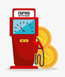 Petroleum industry  design. Petroleum industry design,  illustration eps10 graphic Royalty Free Stock Image