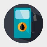 Petroleum industry design. Stock Photo
