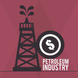 Petroleum industry Royalty Free Stock Photo