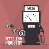 Petroleum industry Royalty Free Stock Image