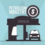 Petroleum industry Stock Photo