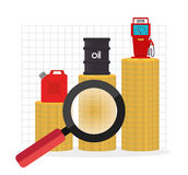 Petroleum industry Royalty Free Stock Images