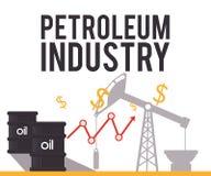 Petroleum industry Royalty Free Stock Photos