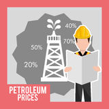 Petroleum industry Royalty Free Stock Photography