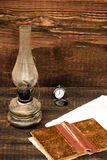 Petroleum lamp Royalty Free Stock Images