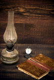 Petroleum lamp Stock Photography
