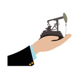 Petroleum oil industry Royalty Free Stock Photos