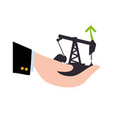 Petroleum oil industry Stock Photos