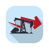 Petroleum oil industry Royalty Free Stock Images