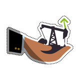 Petroleum oil industry Stock Images