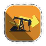 Petroleum oil industry Royalty Free Stock Image