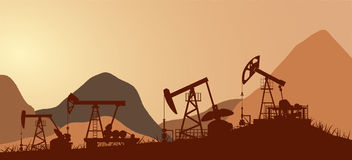 Petroleum,oil, industry Stock Image