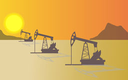 Petroleum,oil, industry. This is an illustration of oil industry stock illustration