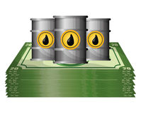 Petroleum and oil prices design. Royalty Free Stock Photo