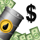 Petroleum and oil prices design. Stock Photography