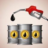 Petroleum and oil prices design. Stock Photo