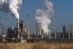 Petroleum Oil Production Plant Royalty Free Stock Photos