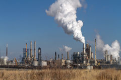 Petroleum Oil Production Plant Stock Photos