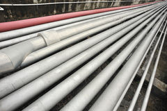 Petroleum pipeline Stock Photo