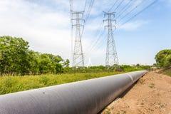 Petroleum Pipeline Stock Image