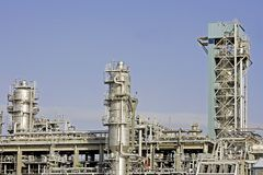 Petroleum plant Royalty Free Stock Photo