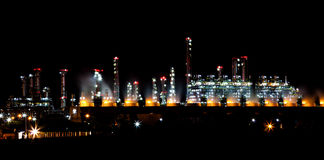 Petroleum plant Royalty Free Stock Images