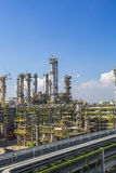 Petroleum plant Royalty Free Stock Photography