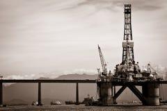 Petroleum platform Stock Image