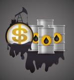 Petroleum Price design Royalty Free Stock Images