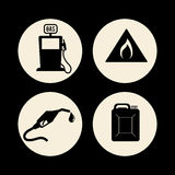 Petroleum price design. Petroleum concept with price icons design, vector illustration 10 eps graphic Royalty Free Stock Images