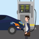 Petroleum price design Royalty Free Stock Photos