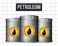 Petroleum price design Royalty Free Stock Photography