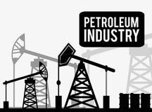 Petroleum price design. Petroleum concept with price icons design, vector illustration 10 eps graphic Stock Image
