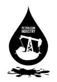 Petroleum price design. Petroleum concept with price icons design, vector illustration 10 eps graphic Stock Images