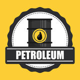 Petroleum price design Royalty Free Stock Photo