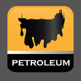 Petroleum price design. Petroleum concept with price icons design, vector illustration 10 eps graphic Stock Images