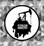 Petroleum price design. Petroleum concept with price icons design, vector illustration 10 eps graphic Stock Photography