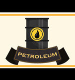 Petroleum price design. Petroleum concept with price icons design, vector illustration 10 eps graphic Royalty Free Stock Photo